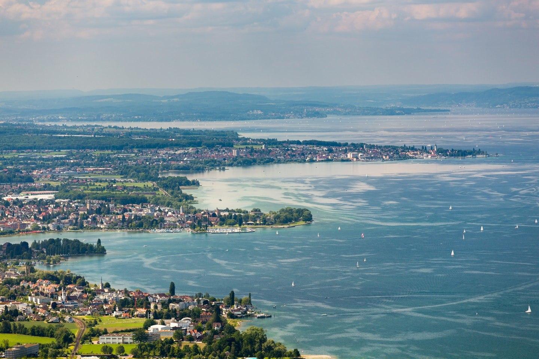 Bodensee Karte Schweiz.Campingurlaub Am Bodensee In Der Schweiz